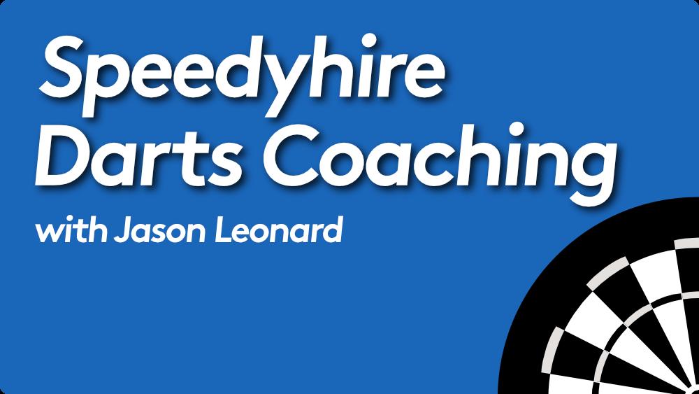 Speedyhire Darts Coaching Experts